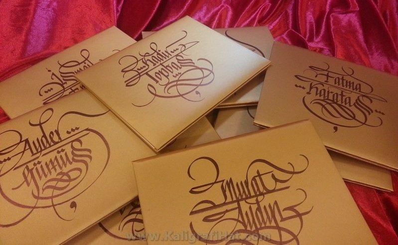 kaligrafi-hat-davetiye-yazımı-1