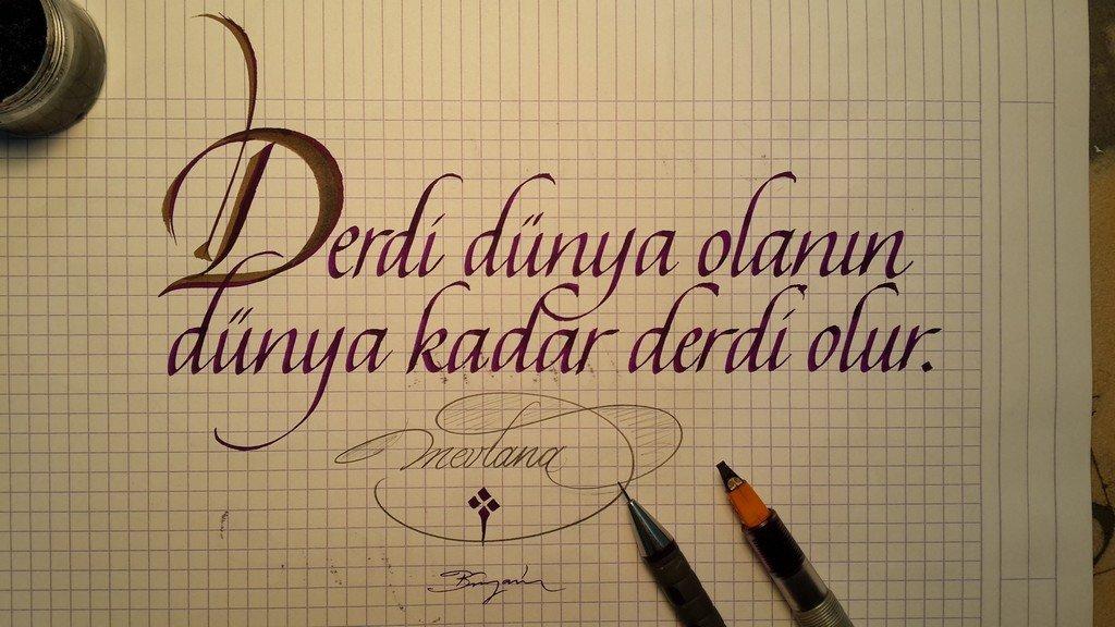 kaligrafi örnekleri