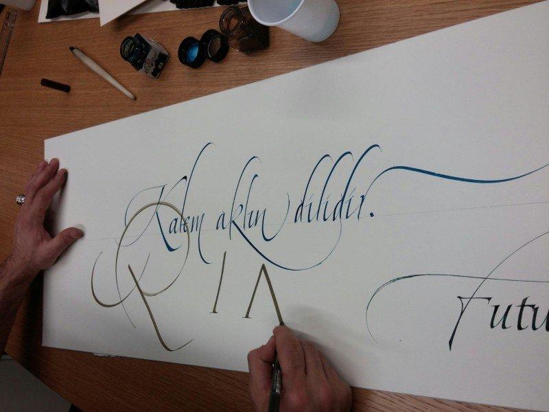 kaligrafi sanati