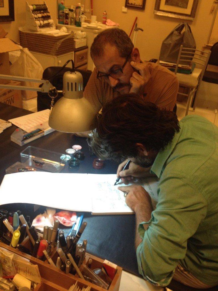 kaligrafi ile güzel yazı kursu