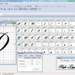 kaligrafi programı - font programı